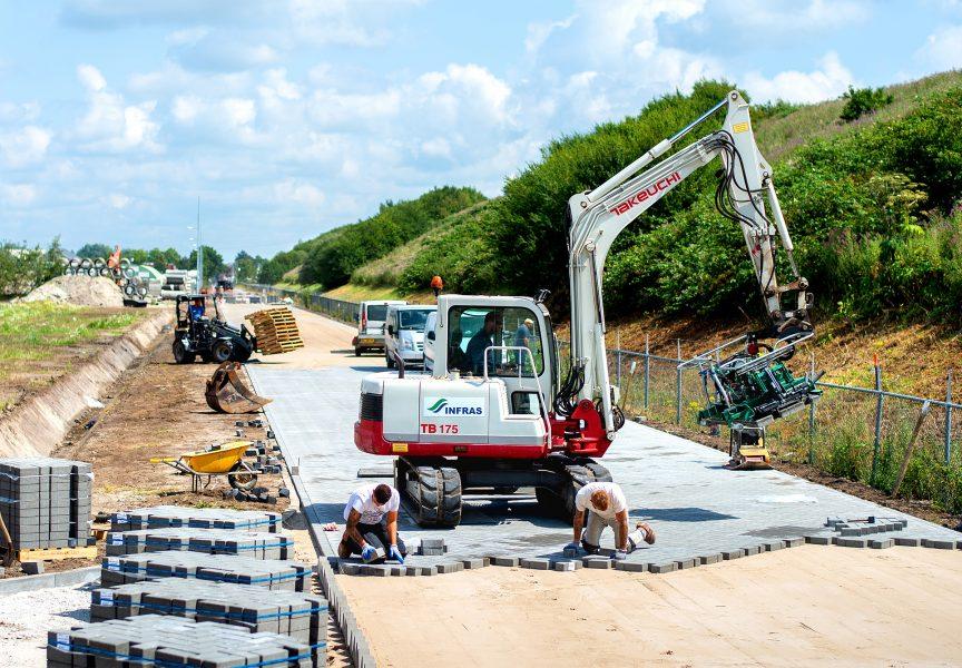 bestrating wegenbouw