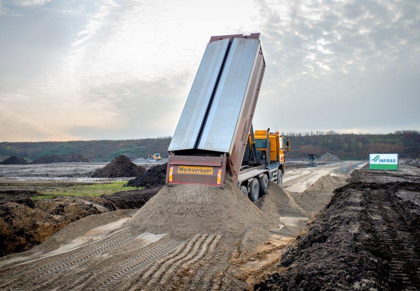 Materialen wegenbouw
